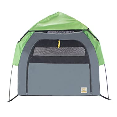 FrontPet Portable Pet Tent, Outdoor Pet Kennel with One Step Setup Technology, Perfect for Camping with Dogs, Includes Carry Bag