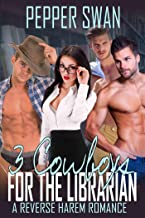3 Cowboys For The Librarian (A Naughty Cowboy Romance) (English Edition)
