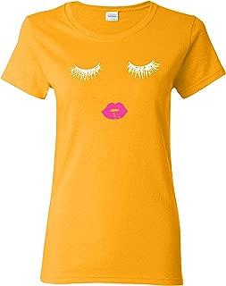 Best gold lips t shirt Reviews