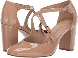 Nude Patent Leather