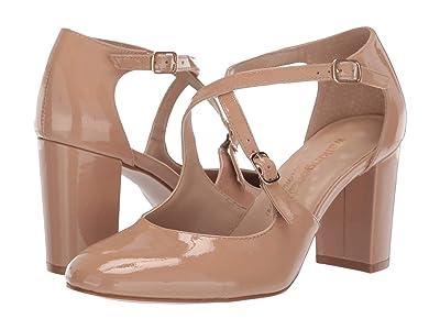 Walking Cradles Mariah (Nude Patent Leather) High Heels