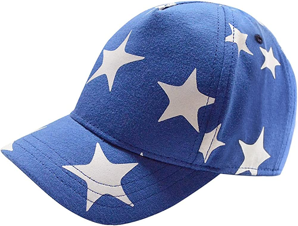 Home Prefer Kids Toddler Boy Baseball Hat Cute Stars Cotton Hats for Boys