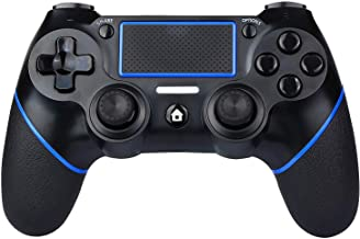 PS4 Controller Wireless for Playstation 4, Dual Shock 4 Wireless Controller with 3.5mm Jack and Dual Vibration