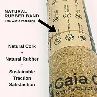Gaia Guy Travel Cork Yoga Mat + Natural Rubber - 72