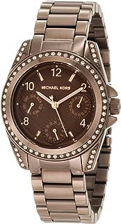 ساعة للنساء من مايكل كورس انالوج بسوار من الستانلس ستيل، طراز MK5614