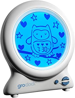 Tommee Tippee GroEgg2 Digital Colour Changing Room Thermometer and Night Light, Yellow