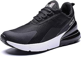 6891f2c2a2d82 GNEDIAE Homme AIR 27C Bas-Top Chaussures de Course Baskets pour Marche  Sport Athlétique Fitness