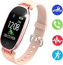 NEWBEING Fitness Watches for Women, Fitness Tracker, Waterproof Smart Watch for Android Phones and iPhone, Health Monitoring Watches, Activity Tracker, Pedometer for Walking, Heart Rate Monitor