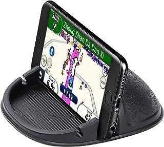 تلفن تلفن دارنده تلفن تلفن سوار اتومبیل ضد لغزش سیلیکون برای داشبورد تلفن همراه دارندگان تلفن تلفن میز میز تلفن ایستاده تلفن سازگار با آی فون XR / XS ، سامسونگ Galaxy Note 8/9 / S8 / S9 ، دستگاه های GPS