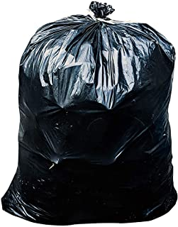 ToughBag 55-60 Gallon Trash Bags, 38W x 58H, 1.2 Mil, Black, 100 / Case