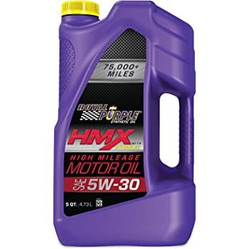 Royal Purple ROY11748 HMX SAE 5W-30 High-Mileage Synthetic Motor Oil - 5 qt.