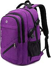 FENGDONG Durable Waterproof Travel Large Laptop Backpack 17.3 inch,College Backpack Bookbag for Women & Men Business Backp...