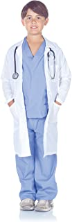 Costumes Children's Doctor Scrubs with Lab Coat, Large 10-12 Childrens Costume