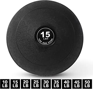 Weighted Slam Ball by Day 1 Fitness – 9 Sizes Available,...