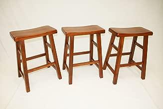 Best oak saddle stool Reviews