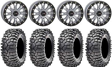 Wheels & Tires Fuel Lethal Black 15 Wheels 32 Carnivore Tires 9 ...