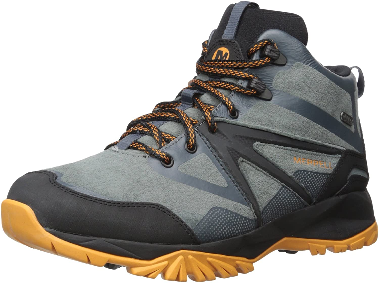Merrell Men's Capra Bolt Leather Mid Waterproof Hiking Boot