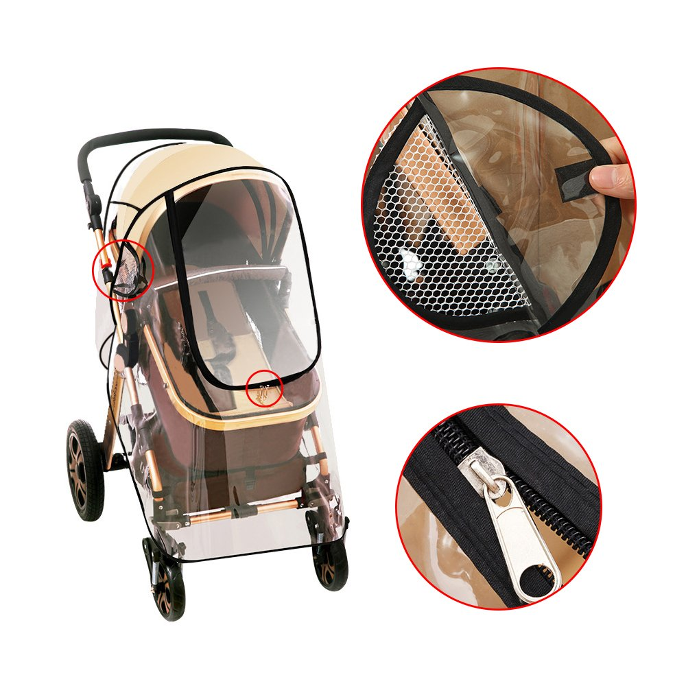 Topwon Universal Baby Stroller Weather Challenge the lowest price Cover Safety and trust Shield Rain Windpro