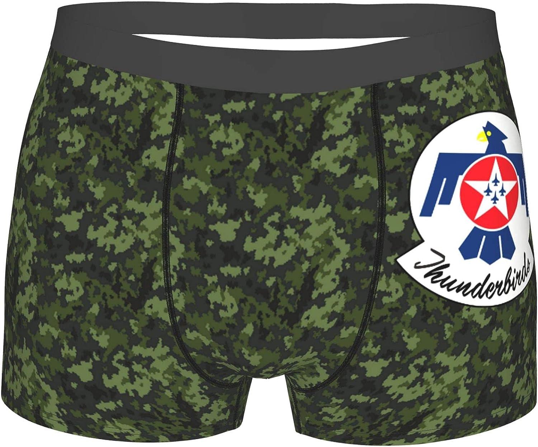 U.S. Air Force Thunderbirds Boys Underwear Men Youth Lightweight Micro Stretch Boxers