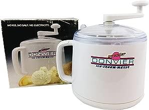 Donvier Premier Ice Cream Maker - 1 Quart (White)