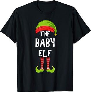 Baby Elf Matching Family Christmas Party Pijama Group Gift Camiseta