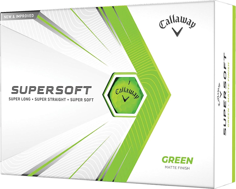 Callaway 2021 Supersoft Golf Balls 12B PK