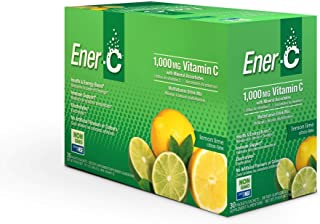 Ener-C - Natural Vitamin C 1000mg Immune Support, Multivitamin Drink Mix Powder Packets with Electrolytes for Hydration, L...