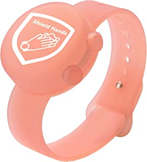 Hand Sanitizer Bracelet | Silicone Wristband | Refillable Container for Kids, Adults | Wearable Portable Dispenser for Tra...