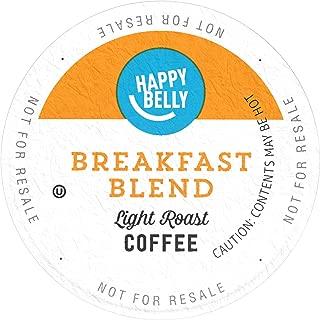 Amazon Brand - 24 Ct. Happy Belly Breakfast Roast Coffee Pods