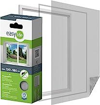 Bescherming tegen insecten hor voor ramen 150 x 180 cm wit