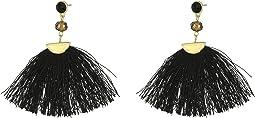 SHASHI - Mia Tassel Hoop Earrings