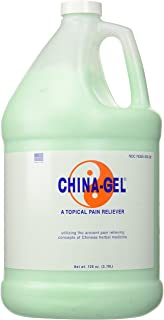 China-Gel Therapeutic Topical Gel Pain Reliever - Natural, Herbal, Greaseless - 1 gallon bottle