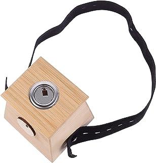 EXCEART Bamboe Moxa Doos Draagbare Moxibustion Box Moxa Stick Holder Een Gat Healing Doos Moxibustion Tool Voor Gezondheid...
