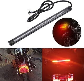 1 luz LED universal para matr/ícula de motocicleta con 15 LED blanco 3528