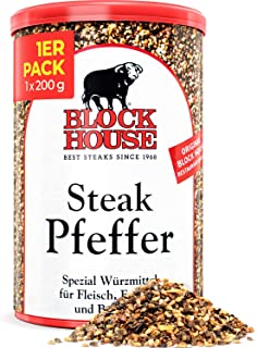 Block House Steak Pfeffer 200g Gewürzmischung - in Restaura
