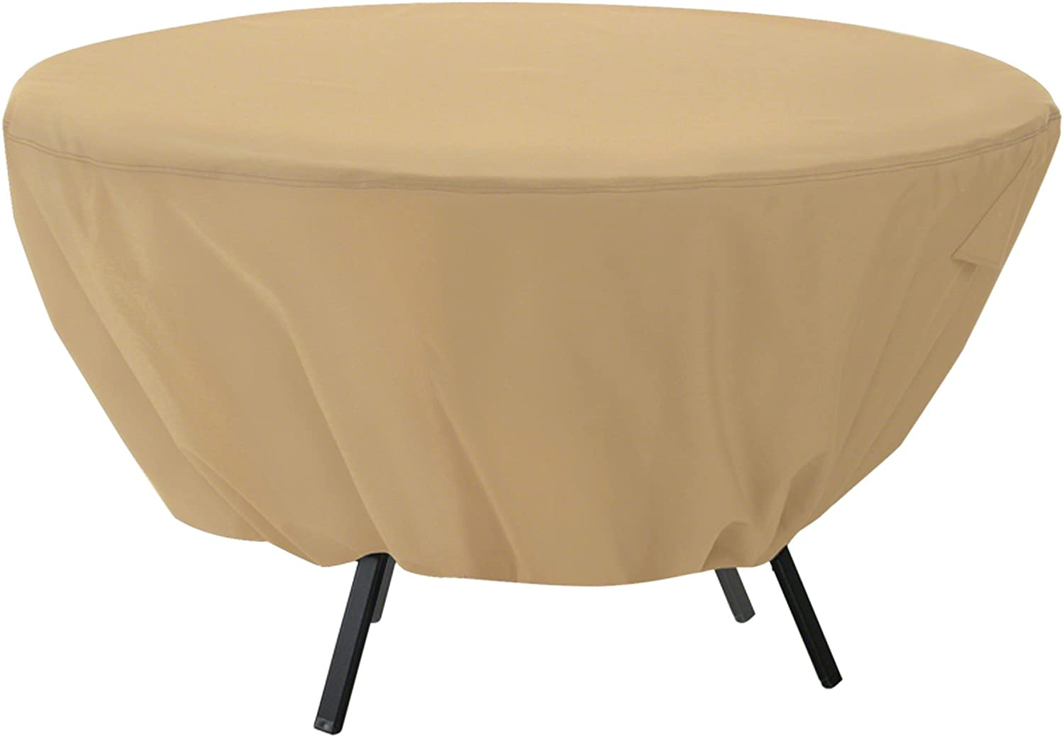 Classic Accessories Terrazzo Water-Resistant 50 Inch Round Patio Table Cover : Patio Furniture Covers : Patio, Lawn & Garden