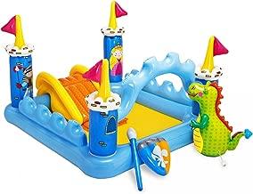 Intex 57138 Fantasy Castle Inflatable Kiddie Pool with Slide