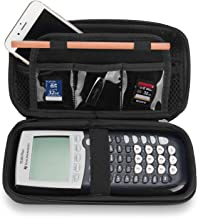 ProCase Hard EVA Case for Texas Instruments Ti-84 Plus, Durable Travel Storage Carrying Box Protective Bag for Ti-84 Ti-83 Ti-85 Ti-89 Ti-82 Plus/C CE Graphing Calculator and More –Black