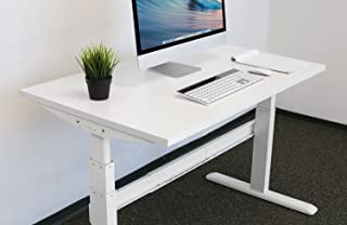 Mount-It! Table Top for Sit Stand Desk - 29 x 59 Inches - White