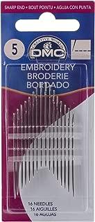 DMC Embroidery Hand Needles, Size 5 16/Pkg