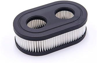 vhbw Papier-luchtfilter vervangfilter 11,1 x 6,7 x 3,4 cm zwart, wit voor grasmaaiers Briggs & Stratton 625EX, 625EXi, 675...