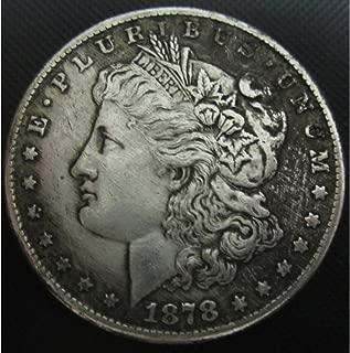 BeiQian Best Morgan Silver Dollars-(1804-1926) Coin Collecting-Silver Dollar USA Old Original Pre Morgan Dollar goodService 1878