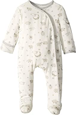 Counting Sheep Kimono Footed Sleeper (Infant)