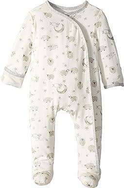 Counting Sheep Kimono Footed Sleeper (Infant)