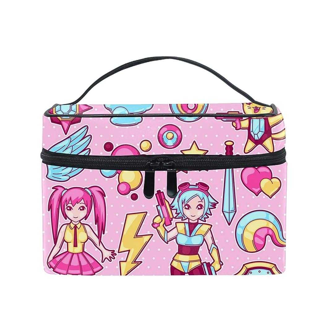 テント小石船員ユニーク Girly Pink おしゃれな メイクアップバッグ メイク道具 小物 お財布 化粧品 軽く 化粧ポーチ