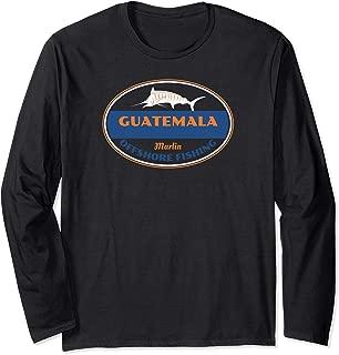 Guatemala Marlin Fishing Long Sleeve T-Shirt