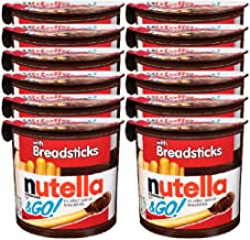 Nutella & Go with Breadsticks, 12 Pack, 12 x 52 g