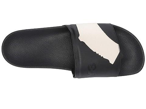 6899b12a3d6f3 adidas Y-3 by Yohji Yamamoto Y-3 Adilette Slide at Luxury.Zappos.com