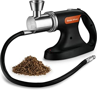 MITBAK Portable Handheld Cold Smoking Gun | Electric Food and Drink Cocktail Smoker Includes Pack of Woodchips | Indoor-Outdoor Smoke Infuser Machine Adds Smoky Flavor in Seconds