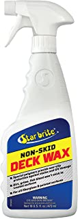 Star Brite Non-Skid Deck Wax - Non-Slip Protection From Stains & UV Damage